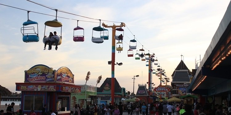 Santa Cruz Beach Boardwalk Report!