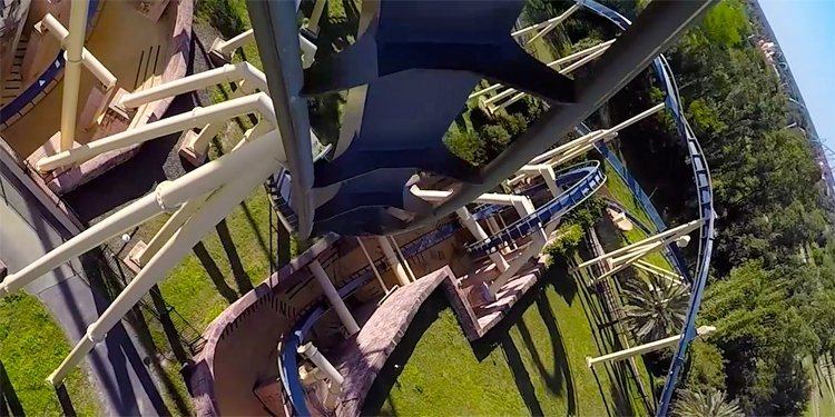 Brand New Video of Montu at Busch Gardens Tampa!
