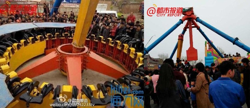 Serious Ride Accident in China!