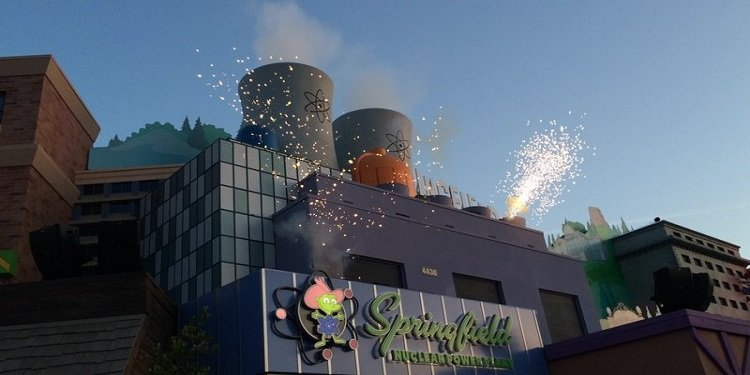 Grand Opening of Springfield at Universal Hollywood!