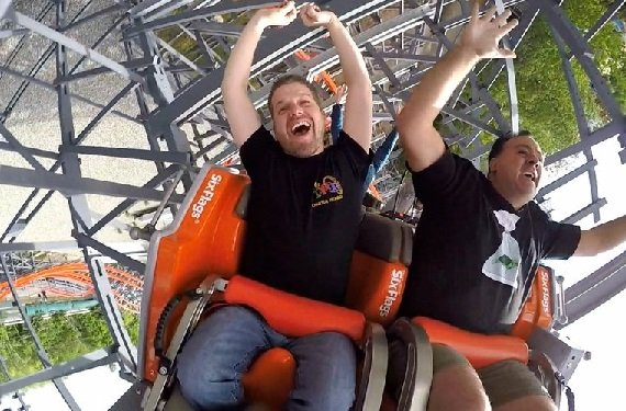Wicked Cyclone Media Day with POV Video!