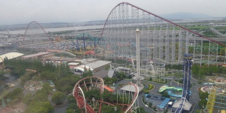 Japan Update: Nagashima Spa Land!