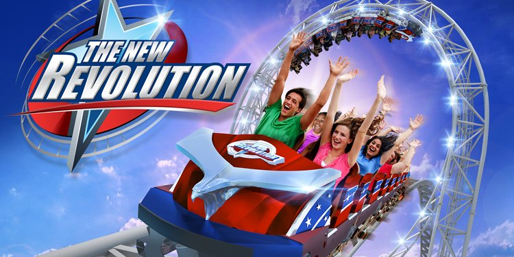 New Revolution Announced for Magic Mountain!