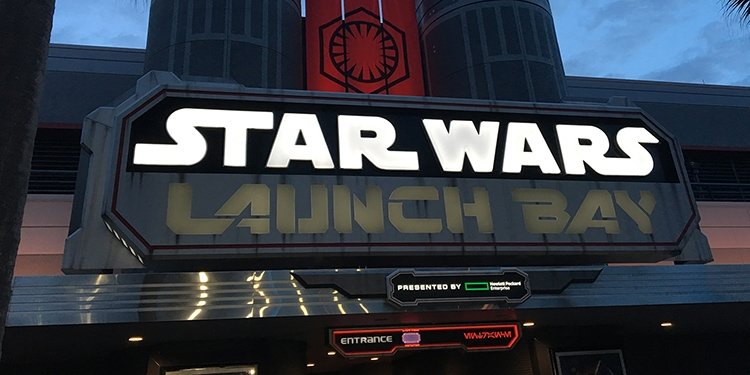 Star Wars Launch Bay at Disney's Hollywood Studios!