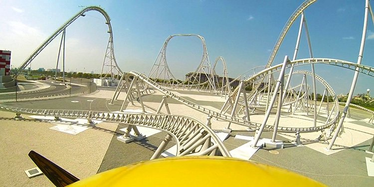 Front-Seat POV Video of Flying Aces!