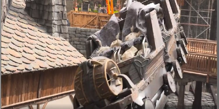 Phantasialand Tests Raik!