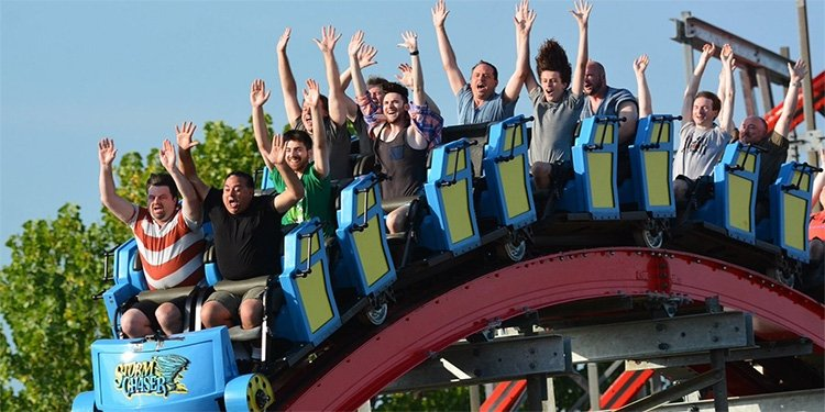 Robb & Elissa's Report from Kentucky Kingdom!