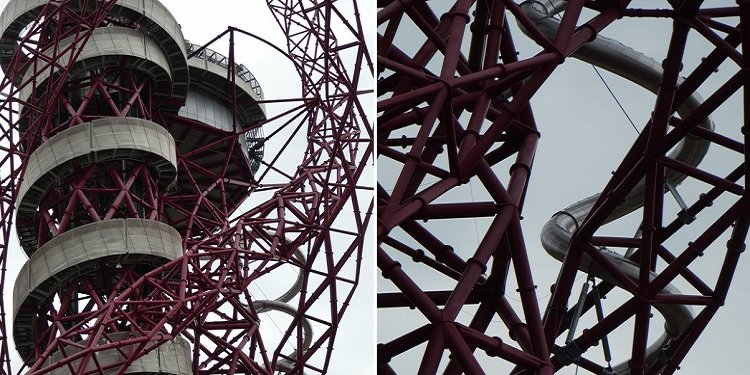 Mittel Orbit Tower Slide, London!