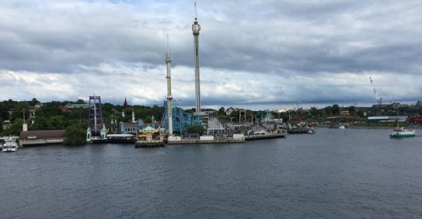 Chuck's Report from Europe: Grona Lund!