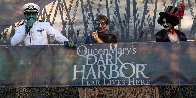 Media Night for Dark Harbor at the Queen Mary!