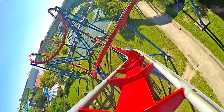 Front Seat POV of Superman!