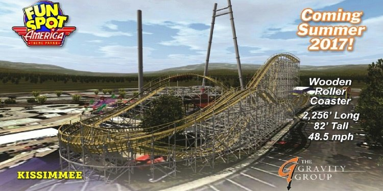New Coaster Coming to Kissimmee, Florida!