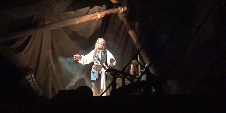 POV of Pirates of the Caribbean at Shanghai Disney!