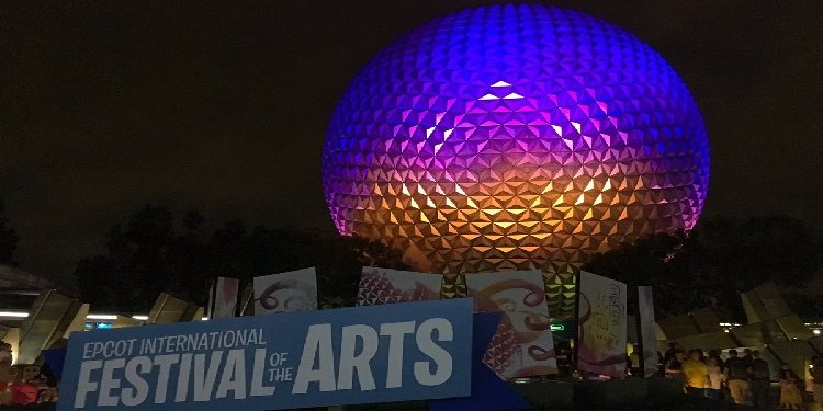 First Festival of the Arts at Epcot!