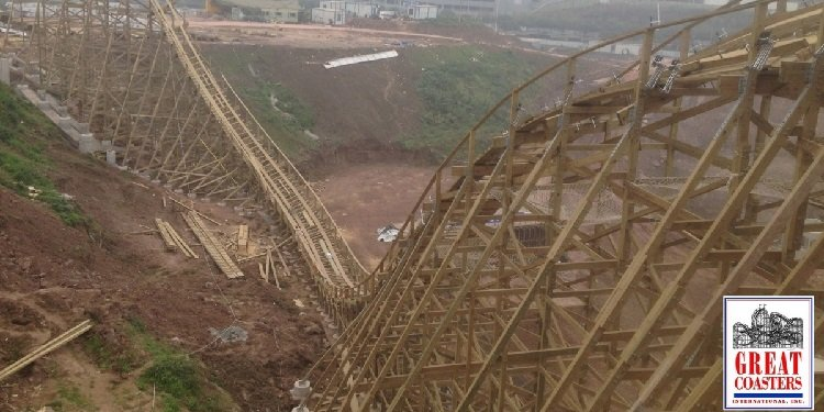 Photos of GCI Coaster at Happy Valley Chongquing!