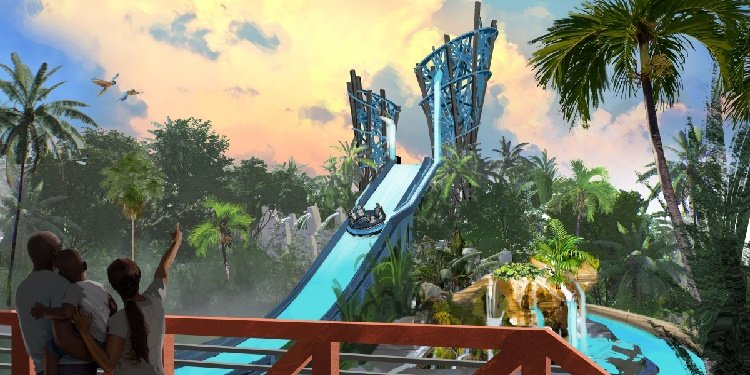 Infinity Falls Rapids Ride Coming to SeaWorld!