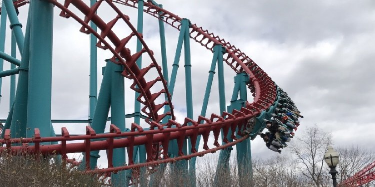 Opening Day at Six Flags New England!