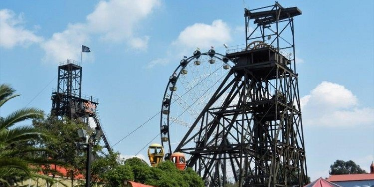 A Day at Gold Reef City, Johannesburg!