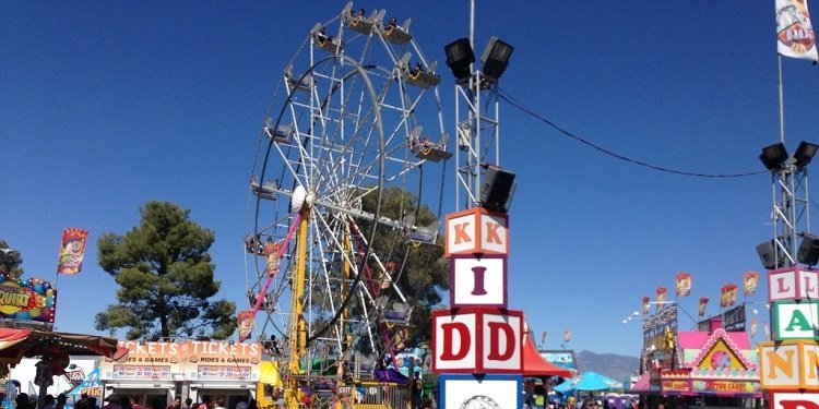 The Pima County Fair in Arizona!