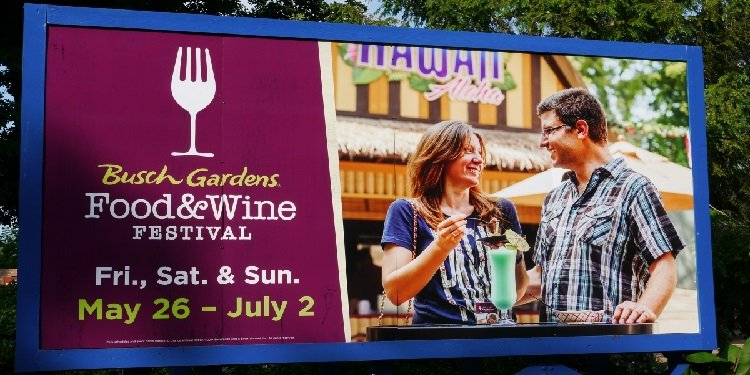 Food & Wine Festival at Busch Gardens!