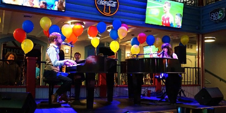 Opening Night: Dueling Pianos at SF Magic Mountain!