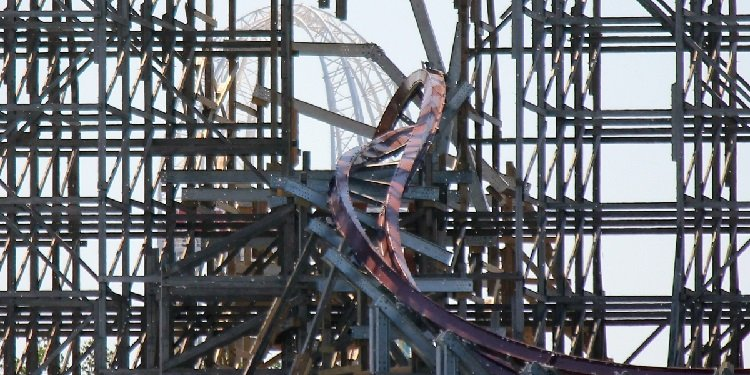 Photos of RMC's Work on Mean Streak!