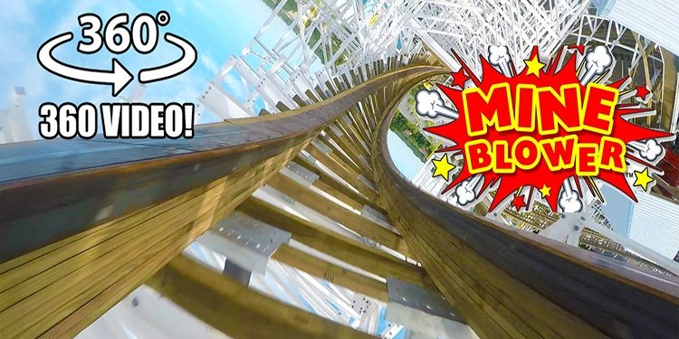 360-Degree Video of Mine Blower!