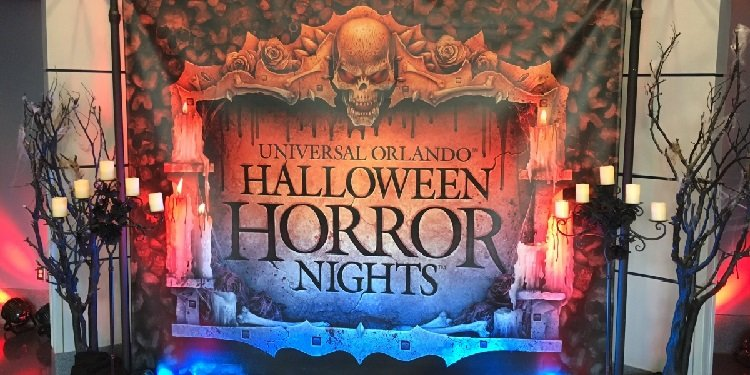 Media Night for Halloween Horror Nights!
