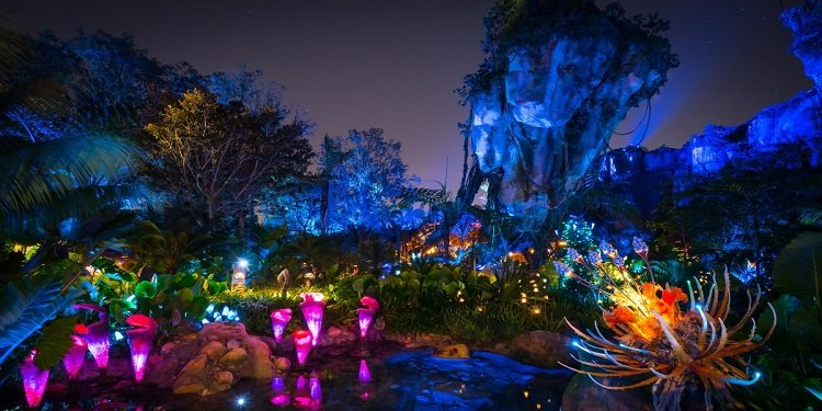 Excellent Photos of Pandora by Day & Night!