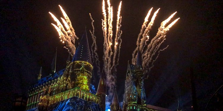 Christmas at Hogwarts!