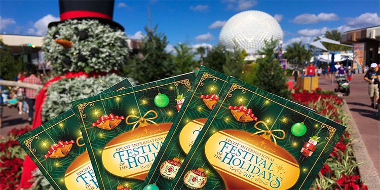 Report from Epcot's Festival of the Holidays!