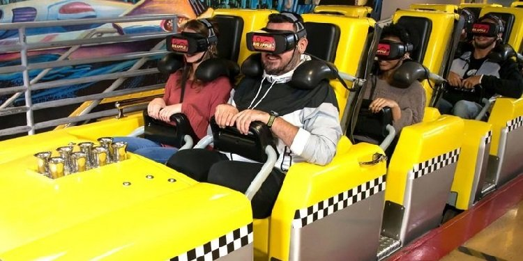 VR Coming to the Big Apple Coaster in Las Vegas!