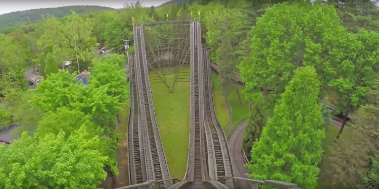 All the Coasters of Knoebels in One Video!