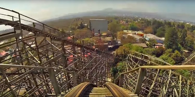 POV Video of Six Flags Mexico's Medusa!