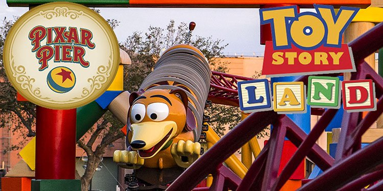 Toy Story Land & Pixar Pier Preview!