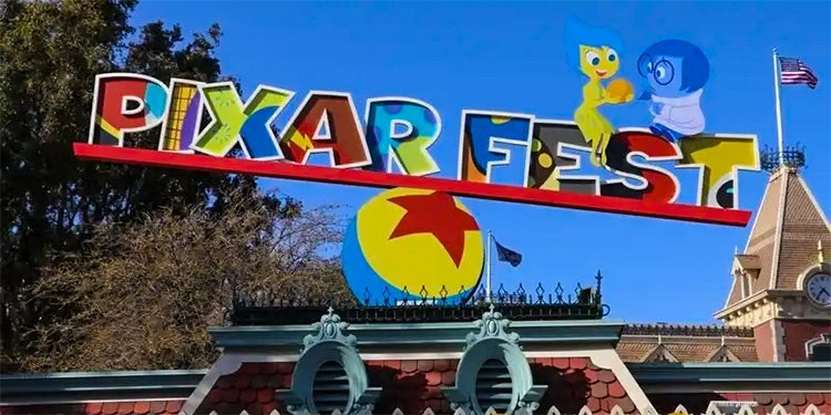Pixar Fest at the Disneyland Resort!