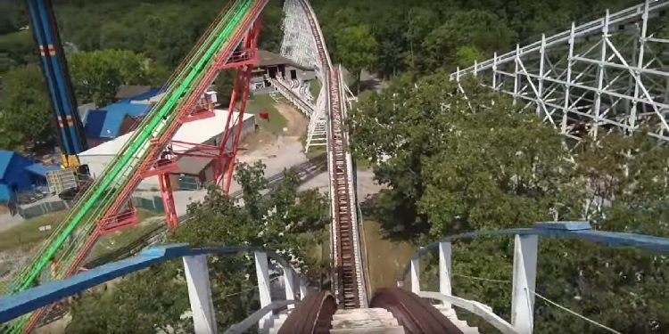 Front-Seat POV of Screamin' Eagle!