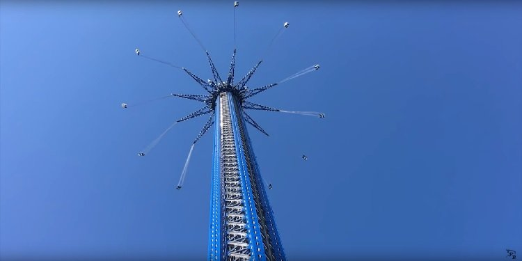 Testing Video of the Orlando StarFlyer!