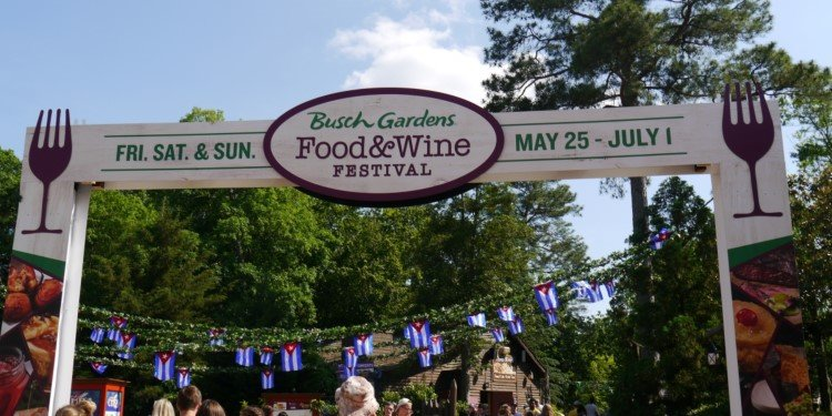 Busch Gardens Williamsburg's Food & Wine Festival!