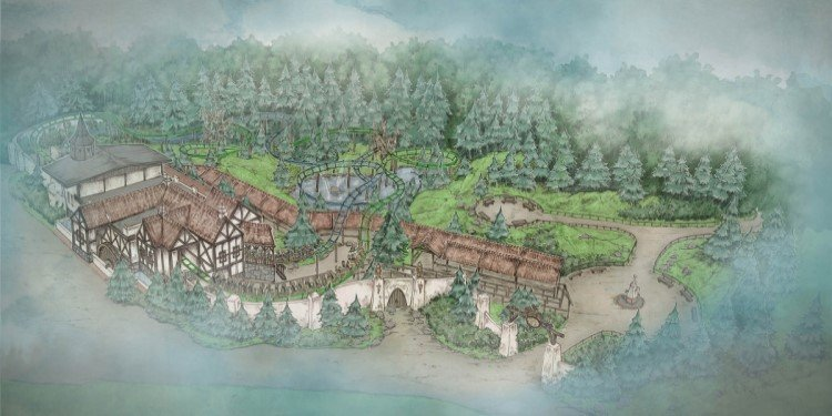 Double Family Coaster for Efteling in 2020!