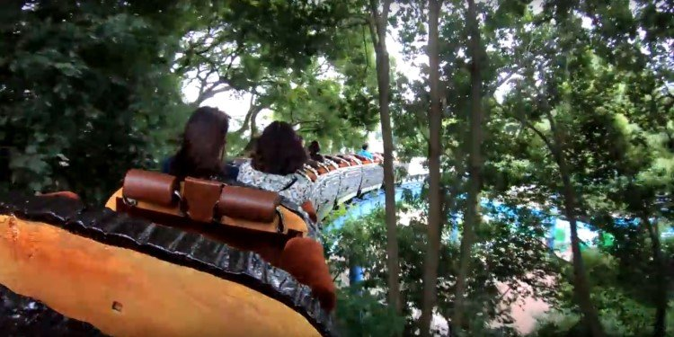 POV Video of Toshimaen's Cyclone!