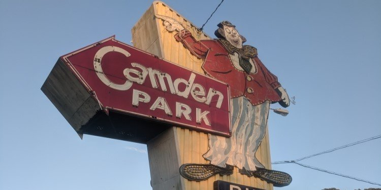 Canobie Coaster's World Adventures: Camden Park!