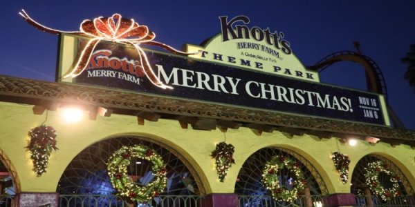 Merry Christmas from Knotts!