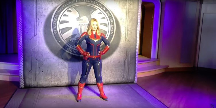 Disney Cruise Lines Introduce Capt. Marvel!