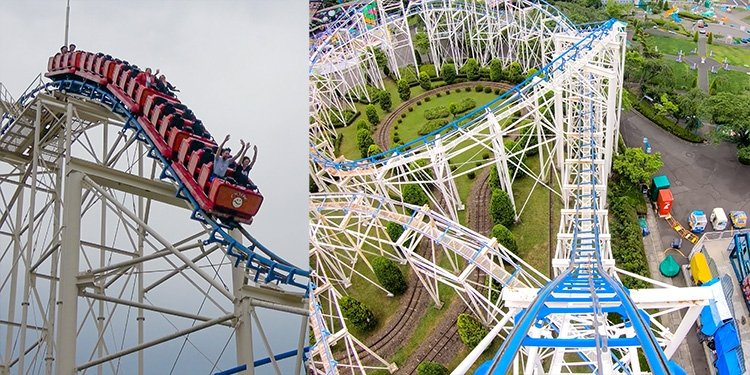 Hilarious POV Video of Benyland's Cyclone!