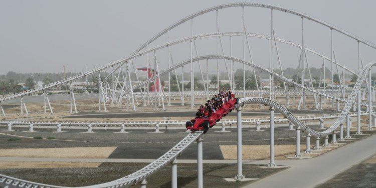 Canobie Coaster's World Adventures: Ferrari World!