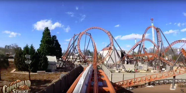 Full POV Video of Copperhead Strike!