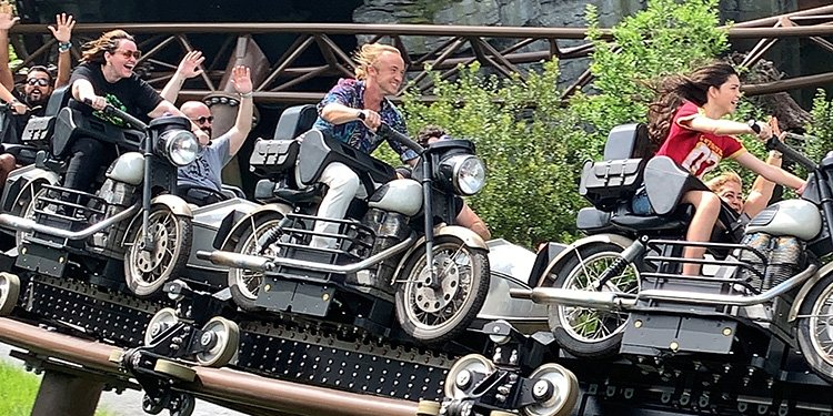 Review of Hagrid's Magical Creatures Motorbike Adventure!