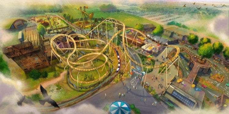 Paultons Park in the UK Announces Tornado Springs!