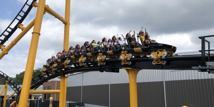 Media Day for Kennywood's Steel Curtain!